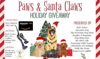 Tis the Season to WIN BIG with the Paws & Claws Holiday Giveaway | KamaLovesAgility.com