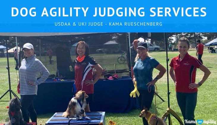 UKI & USDAA Judge - Kama Rueschenberg